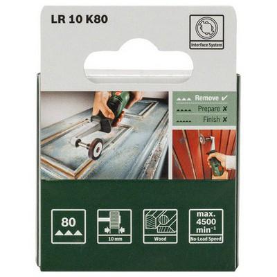 Bosch PRR - Lamella Roll 10mm, grid 80  - 1600A0014Y