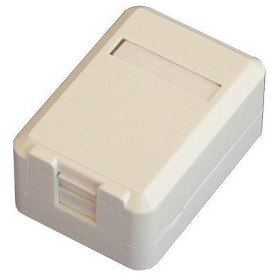 Dorax Dr-6104-1pb 1 Port Shutter Kapaklı Sıva Üstü Data Prizi (boş) Ağ / Modem Aksesuarı
