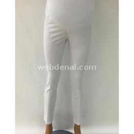 Sedef 5 Cep Hamile Kumaş Pantalonlacivert Siyah 40 Elbise, Tulum, Etek