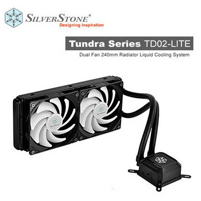 Silverstone Tundra TD02-LITE İşlemci Soğutucu (SST-TD02-LITE)