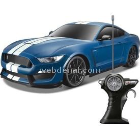 Maisto Ford Shelby Gt 350 1:14 Uzaktan Kumandalı Araba Lacivert Arabalar