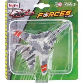 Maisto Metal Forces Askeri Savaş Uçağı F14 Tomcat Model Uçak Erkek Çocuk Oyuncakları