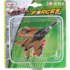 Maisto Metal Forces Askeri Savaş Uçağı Mıg-29 Fulcrum Model Uçak Erkek Çocuk Oyuncakları