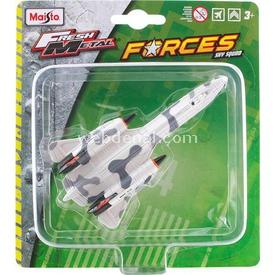Maisto Metal Forces Askeri Savaş Uçağı Sr-71 Blackbird Model Uçak Erkek Çocuk Oyuncakları