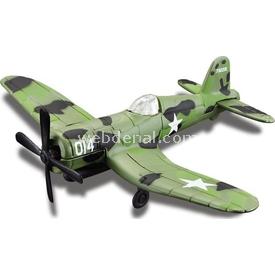 Maisto Metal Forces Askeri Savaş Uçağı F4u-1d Corsair Model Uçak Erkek Çocuk Oyuncakları
