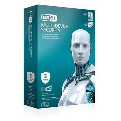 Nod32 Eset Multi Device Security V.9 - 5 Kullanıcı Kutu Güvenlik Yazılımı