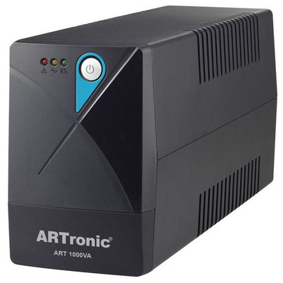 ARTronic Art-1000 1000va Line Interactive Ups 2 Adet12v7ah Akü 3pc 7 Dk 1pc 35 Dk.