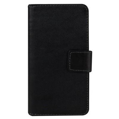 Microsonic Sony Xperia Z5 Compact (z5 Mini) Kılıf Cüzdanlı Deri Siyah Cep Telefonu Kılıfı