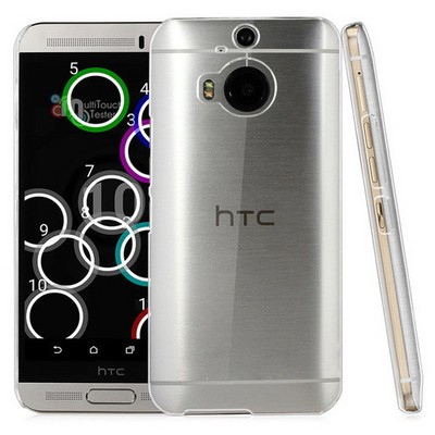 Microsonic Kristal Şeffaf Htc One M9+ Plus Kılıf Cep Telefonu Kılıfı