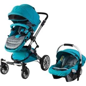 Prego 2070 Yeni Laon Travel Bebek Arabası Mavi Travel Sistem Bebek Arabası