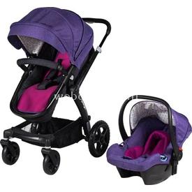 Prego 2075 Yeni Viola Travel Bebek Arabası Lila Travel Sistem Bebek Arabası