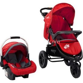 Sunny Baby Sb 338 Partner Travel Sistem Alüminyum Kasa Bebek Arabası Alimünyum Kasa Kırmızı Travel Sistem Bebek Arabası
