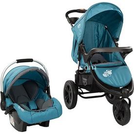 Sunny Baby Sb 338 Partner Travel Sistem Alüminyum Kasa Bebek Arabası Alüminyum Kasa Mavi Travel Sistem Bebek Arabası