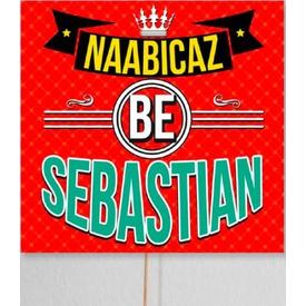 Parti Paketi Naabıcaz Be Sebastian, Konuşma Balonu Diğer Parti Aksesuarları