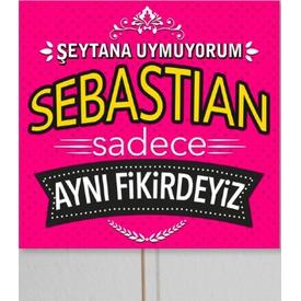 Parti Paketi Şeytana Uymuyorum Sebastian, Konuşma Balonu Diğer Parti Aksesuarları