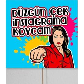 Parti Paketi Düzgün Çek Instagrama Koycam, Konuşma Balonu Diğer Parti Aksesuarları