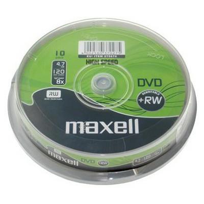Maxell Dvd+rw 8x 10lu Sp-275686.40.tw CD/DVD