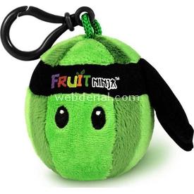Necotoys Fruit Ninja Sesli Peluş Karpuz 6 Cm Peluş Oyuncaklar
