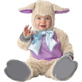Hkostüm Bebek Kuzu Kostümü 12-18 Ay Kostüm & Aksesuar