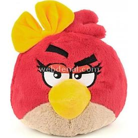 Angry Birds Kız Sesli Peluş 12 Cm Peluş Oyuncaklar