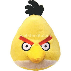 Angry Birds Sarı Kuş Sesli Peluş 20 Cm Peluş Oyuncaklar