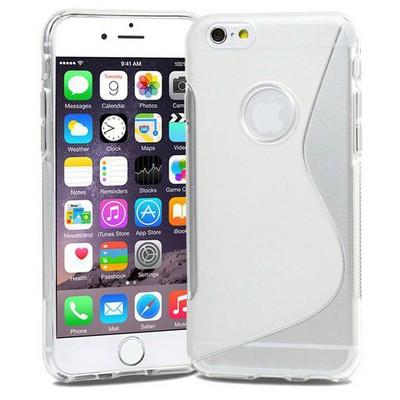 Microsonic Iphone 6s Plus (5.5'') S-line Soft Kılıf Şeffaf Cep Telefonu Kılıfı