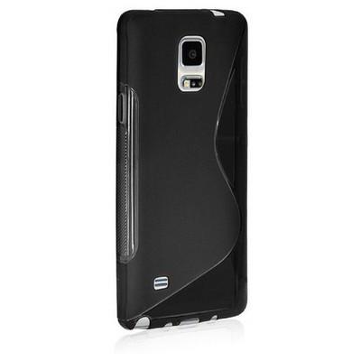Microsonic S-line Soft Samsung Galaxy Note Edge Kılıf Siyah Cep Telefonu Kılıfı