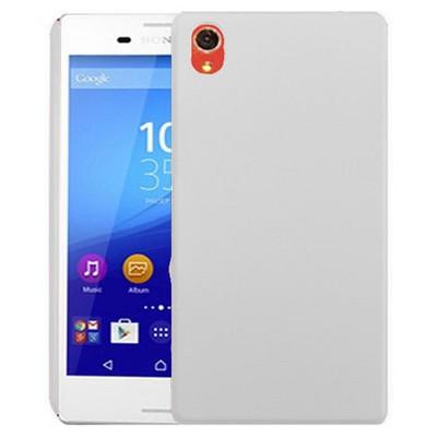 Microsonic Sony Xperia M4 Aqua Kılıf Premium Slim Beyaz Cep Telefonu Kılıfı