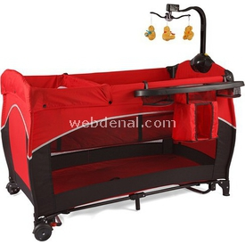 Prego 8025 Wonderland  60x120 Kırmızı Park Yatak