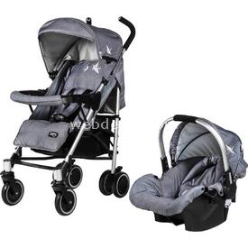 Sunny Baby 757 Yeni Jimmy Plus Travel Bebek Arabası Gri Travel Sistem Bebek Arabası