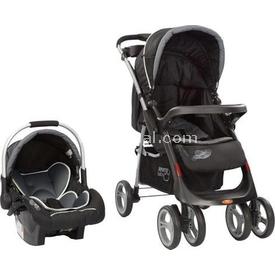 Sunny Baby Sb 750 Royal  Alimünyum Kasa Siyah Travel Sistem Bebek Arabası