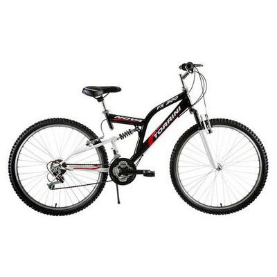 Tunca ATS-516 Atlas 24 Jant 21 Vites Amortisörlü Bisiklet - Siyah