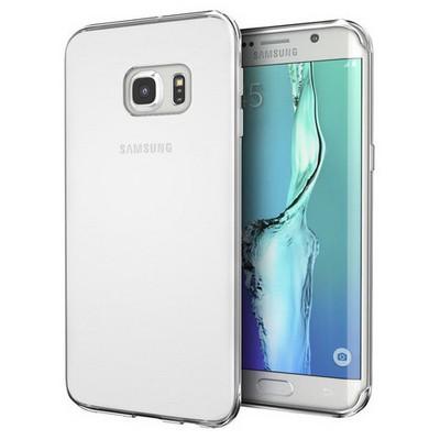 Microsonic Samsung Galaxy S7 Edge Kılıf Transparent Soft Beyaz Cep Telefonu Kılıfı