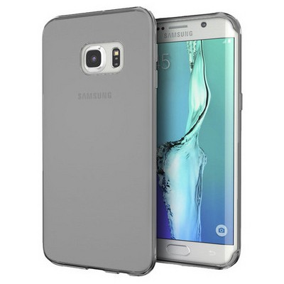Microsonic Samsung Galaxy S7 Edge Kılıf Transparent Soft Siyah Cep Telefonu Kılıfı