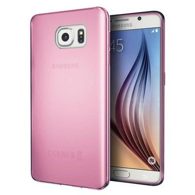 Microsonic Samsung Galaxy S7 Kılıf Transparent Soft Pembe Cep Telefonu Kılıfı