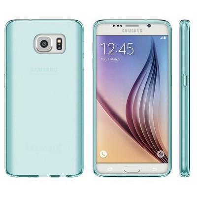 Microsonic Samsung Galaxy S7 Kılıf Transparent Soft Mavi Cep Telefonu Kılıfı