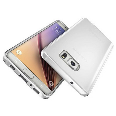Microsonic Samsung Galaxy S7 Kılıf Transparent Soft Beyaz Cep Telefonu Kılıfı