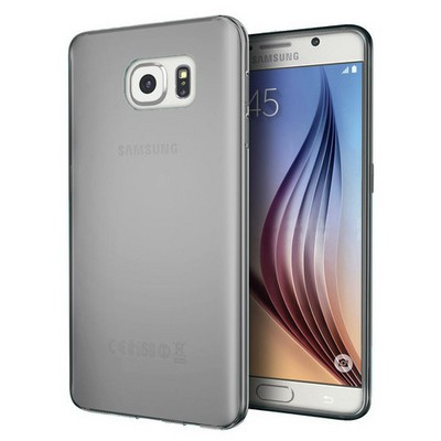 Microsonic Samsung Galaxy S7 Kılıf Transparent Soft Siyah Cep Telefonu Kılıfı