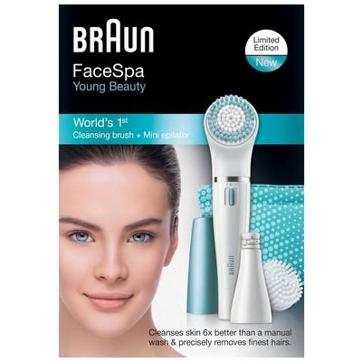 Braun 832 FaceSpa Yüz Epilatörü ve Temizleme Fırçası - Mavi