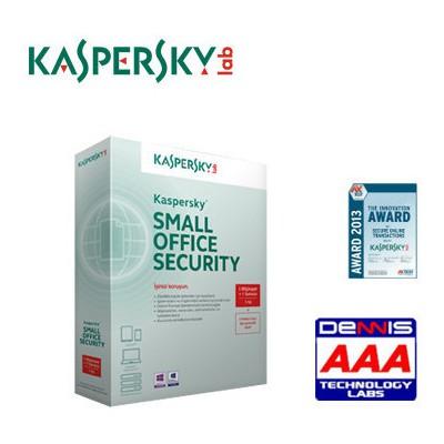 Kaspersky Ksos Smalloff.sec. (1+5 +5 ) - 3 Yıl Güvenlik Yazılımı