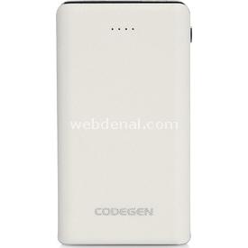 Codegen L10W 10000 MAH Beyaz POWERBANK TAŞINABİLİR ŞARJ CİHAZI Taşınabilir Şarj Cihazı