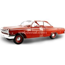 Maisto 1962 Chevrolet Bel Air 1:18 Model Araba Arabalar