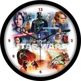YKC Star Wars Duvar Saati Bebek Odası Aksesuarı