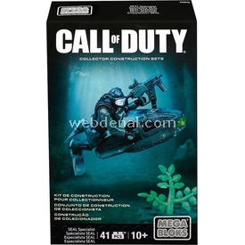 Mattel Games Mega Bloks Call Of Duty Tactical Unit Seal Specialist Oyun Seti Lego Oyuncakları