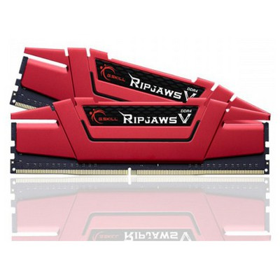 G.Skill Ripjaws V Red 8GB CL15 DDR4 Bellek (F4-2400C15S-8GVR)