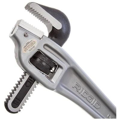 Ridgid 31125 18? 450mm Ağır Tip Alüminyum 90° Sondaj Boru Anahtarı Anahtar Takımı