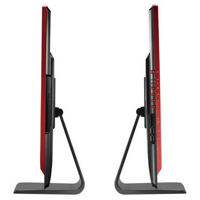 MSI Aıo Gamıng24 6qe-001eu 23,6 Fhd (1920x1080) Non-touch I7-6700hq 8g Ddr4 128gb Ssd+1tb W10 Gtx960m 4gb Dvd Sıyah-sıyah-kırmızı All in One PC