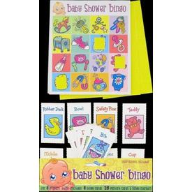 Parti Paketi Baby Shower Bingo Oyunu Parti Oyunları