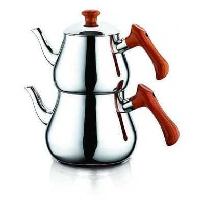 Özkent K 348/03 Pramit Ahşap Mini Boy Çaydanlık Çaydanlık & Cezve