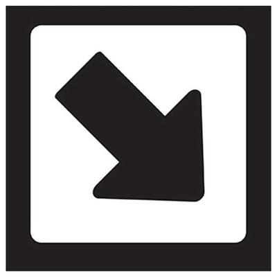 Crea Tiket Creatiket 1169 Yönlendirme Etiketi Bilgilendirme Levhası